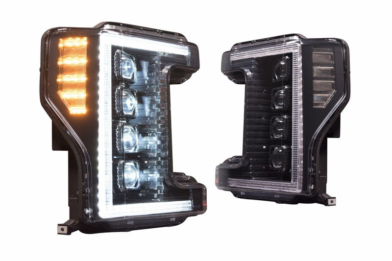 2017-2019 f-250 f-350 super duty Prebuilt LED Headlights by morimoto - PRIMO DYNAMIC