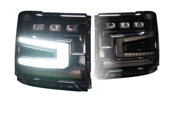 CHEVROLET SILVERADO 1500 (16-18): XB LED HEADLIGHTS - PRIMO DYNAMIC