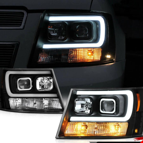 07-14 Chevy Suburban/Tahoe Black LED NEON TUBE