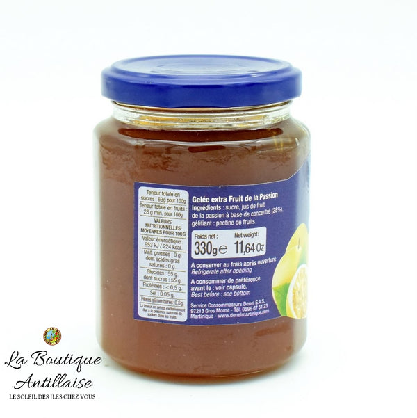 CONFITURE ROYAL GELEE FRUIT DE LA PASSION - La Boutique Antillaise
