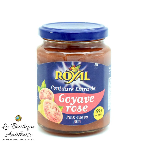 CONFITURE ROYAL GOYAVE ROSE - La Boutique Antillaise