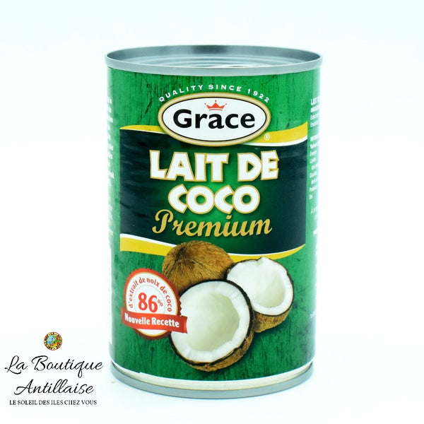 LAIT DE COCO GRACE - La Boutique Antillaise