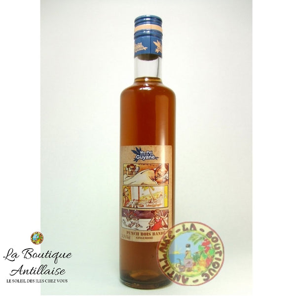 PUNCH BOIS BANDE MO PEI 50CL 24,5% - La Boutique Antillaise