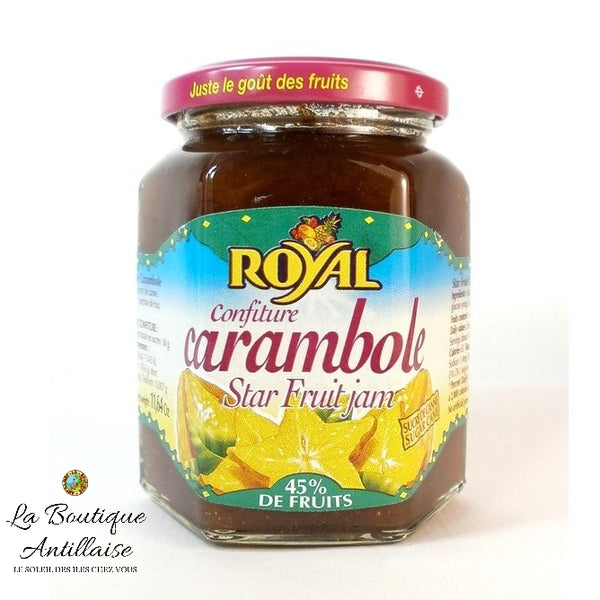 CONFITURE ROYAL CARAMBOLE - La Boutique Antillaise