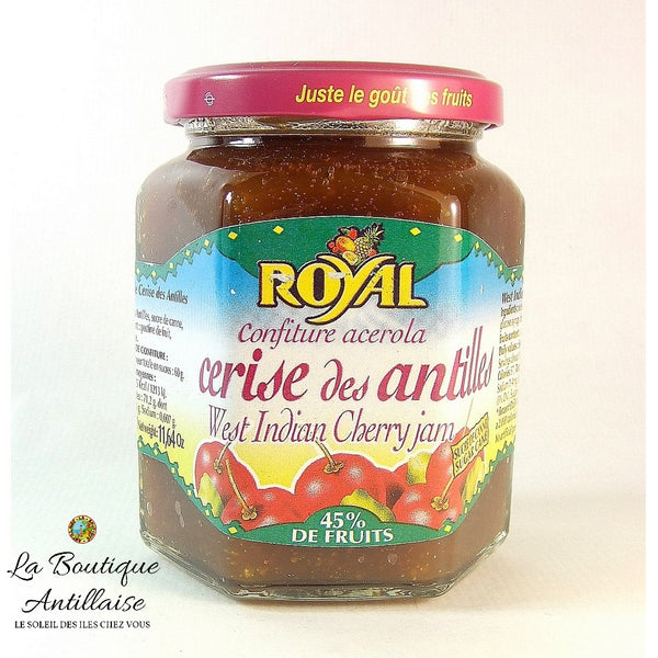 CONFITURE ROYAL CERISE DES ANTILLES - La Boutique Antillaise