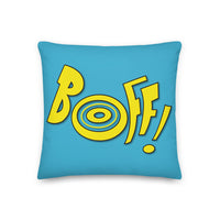 SEE BOTH SIDES--Boff / Boink Premium Pillow - SloppyOctopus.com
