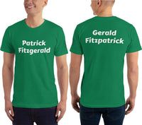 "SEE BOTH SIDES--Patrick Fitzgerald and ""Friend"", Unisex T-Shirt - SloppyOctopus.com"