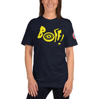 SEE BOTH SIDES--Boff! Boink! American Apparel 2001 Unisex T-Shirt - SloppyOctopus.com