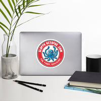 Single side--Sloppy Octopus Logo, Bubble-Free Stickers - SloppyOctopus.com