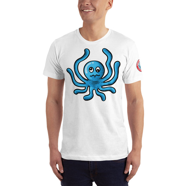 Single side--Octo Art Unisex T-Shirt(Bold colors) - SloppyOctopus.com