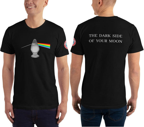 SEE BOTH SIDES--The Dark Side Of Your Moon, Unisex T-Shirt - SloppyOctopus.com