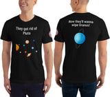 SEE BOTH SIDES--Wipe Off Uranus, Unisex T-Shirt - SloppyOctopus.com