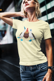 Single side--A Pair of Boobies with a Cock Between Them, Unisex T-Shirt - SloppyOctopus.com