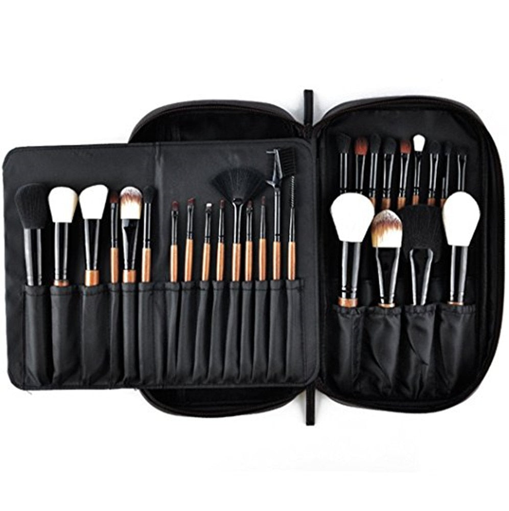 Professional Makeup Brushes 28pcs with Luxury Makeup Bag