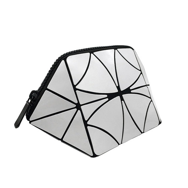 Waterproof Geometric Foldable Makeup Organizer Portable