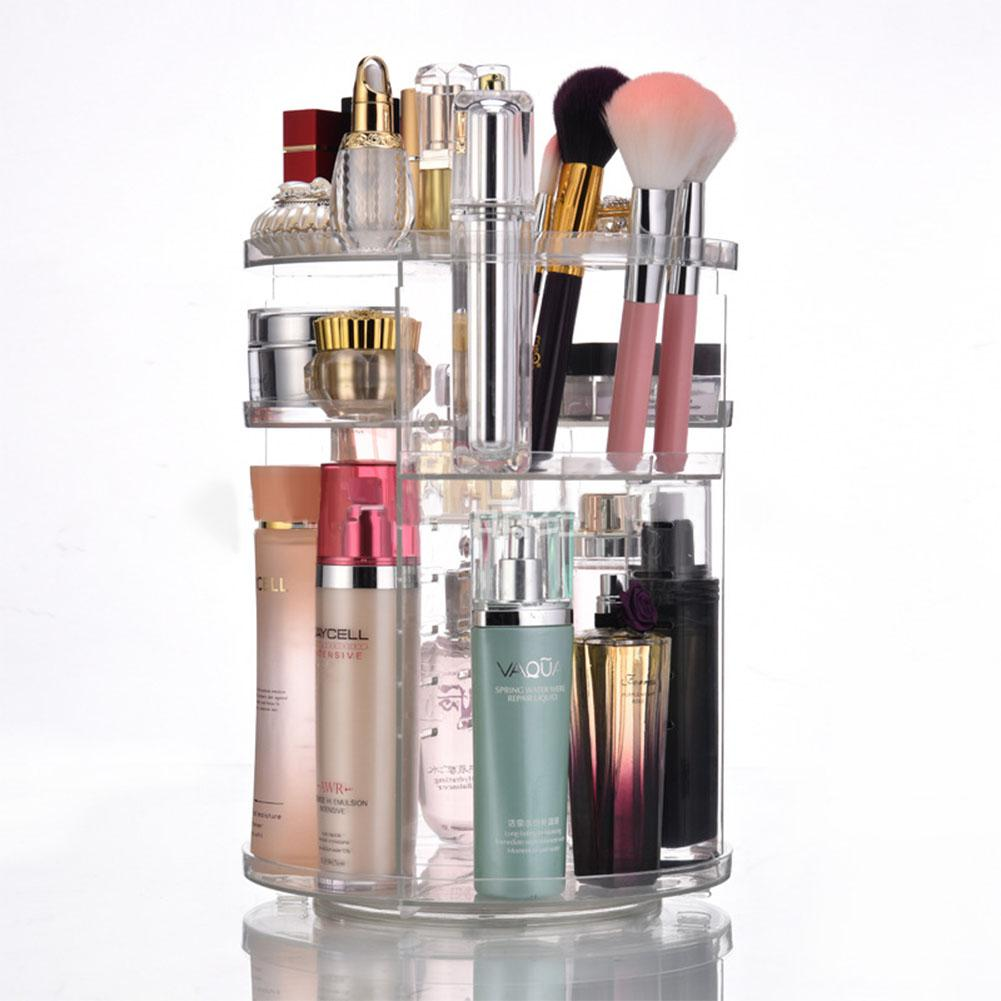 Cosmetic Transparent Rack Organizer