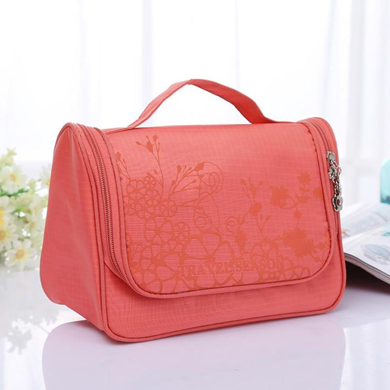 New Travel Organizer for Toiletries - Watermelon Red