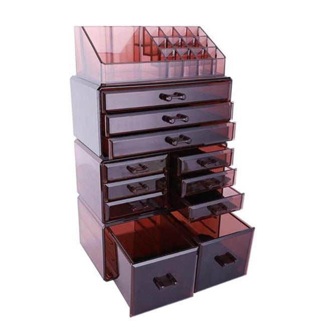Makeup Display Rack Organizer 4Pcs/Set