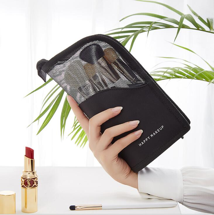 Practical Cosmetic Makeup Case with Zipper