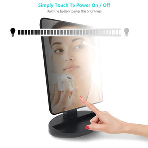 LED Touch Screen Professional Makeup Mirror