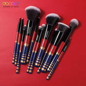 Professional Makeup Brushes Set - Synthetic Hair