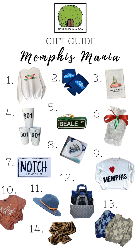 Memphis Mania Gift Guide