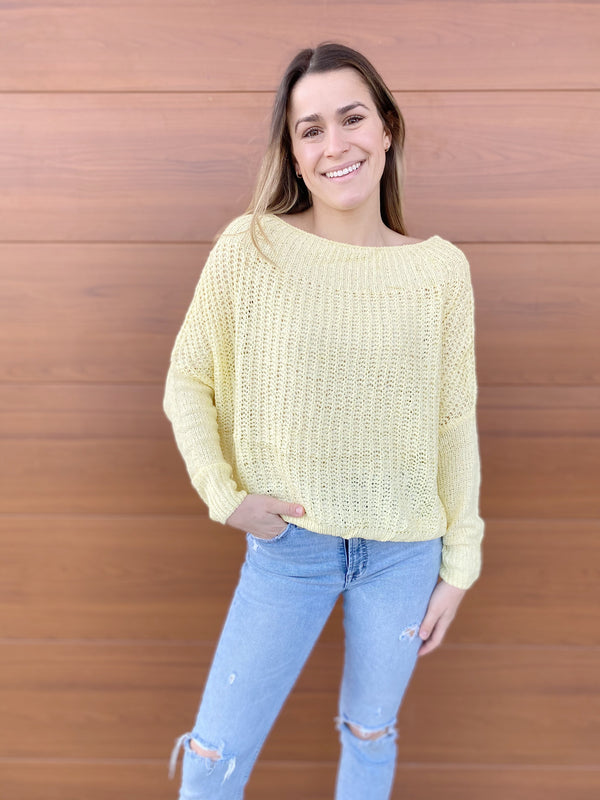 Slouchy Solid Sweater