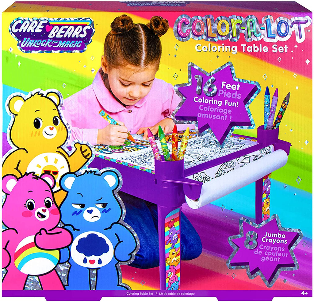 Care Bears Color-A-Lot Table Set