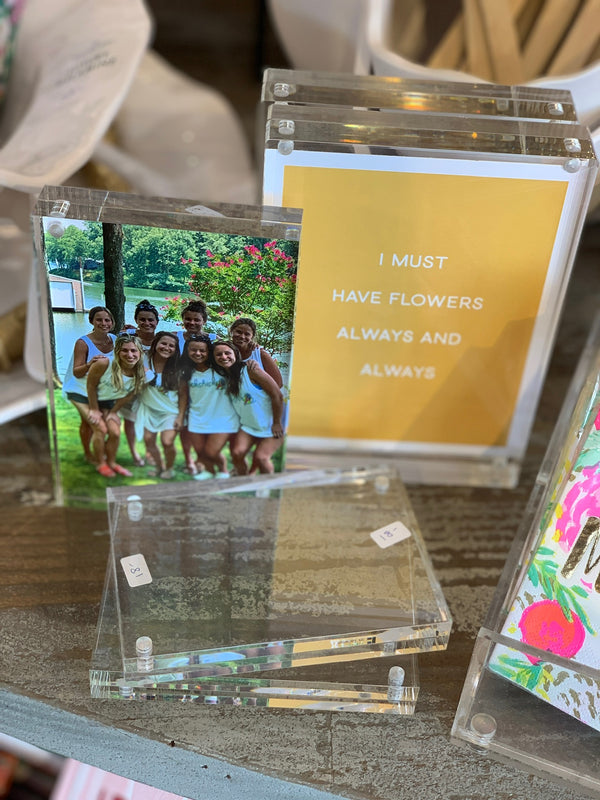 Acrylic Magnetic Picture Frames
