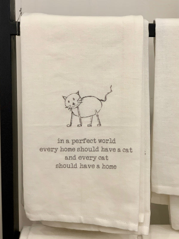 Kitchen Towel - Cat in Every Home