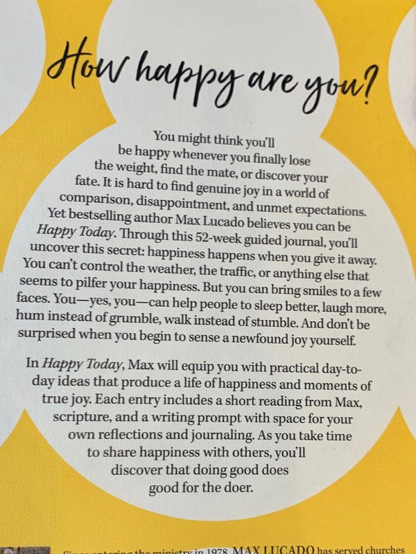 Happy Today - Guided Journal to Joy