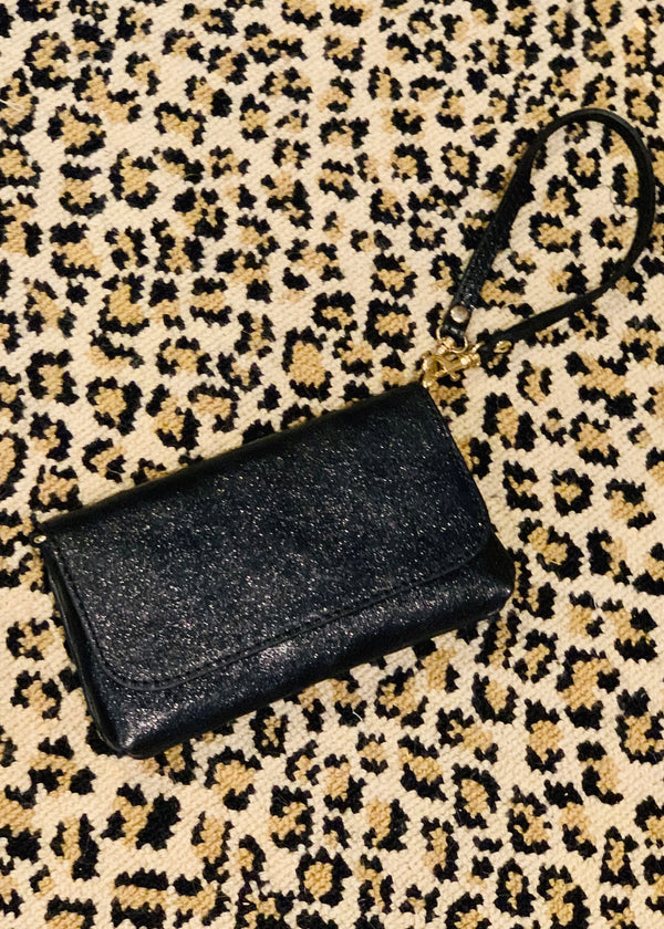 Downtown Shimmer Wristlet