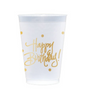 Happy Birthday Frost Flex Cups