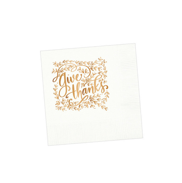 Natalie Chang Thanksgiving Napkins