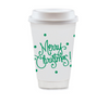 Christmas To Go Coffee Cups / MINIMUM 4 TO SHIP