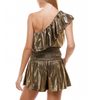Metallic Skort Set
