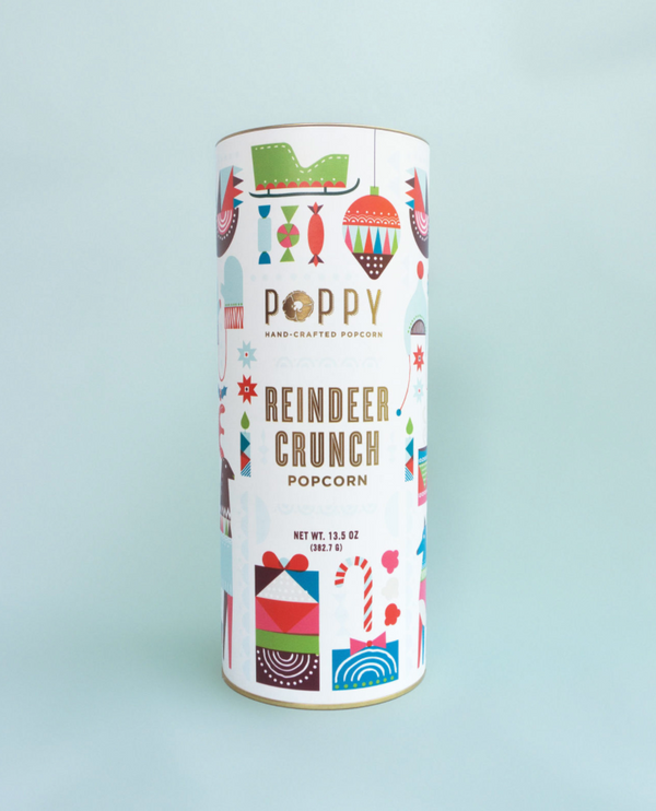 Holiday Poppy Popcorn