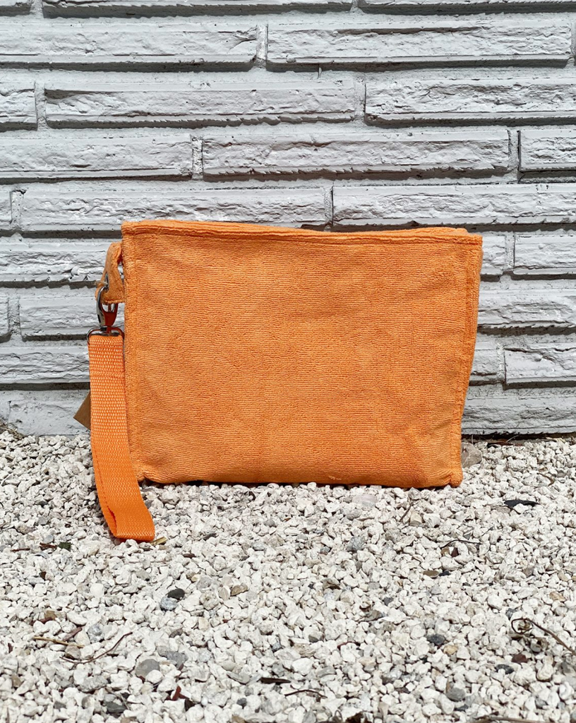 Terry Cloth Large Pouch