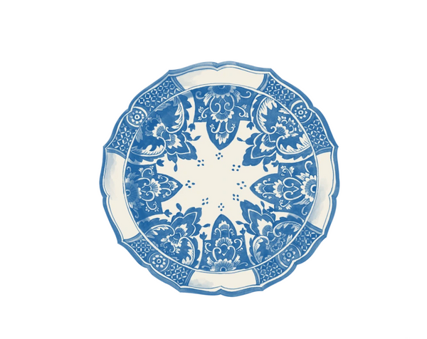 Die Cut China Blue Placemat