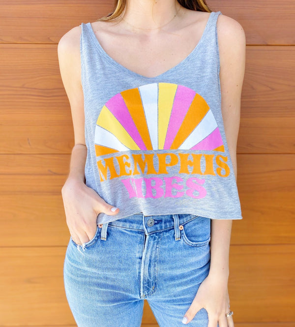 Cropped Memphis Vibes Tank