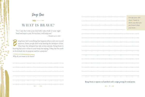 100 Days to Brave - Guided Journal