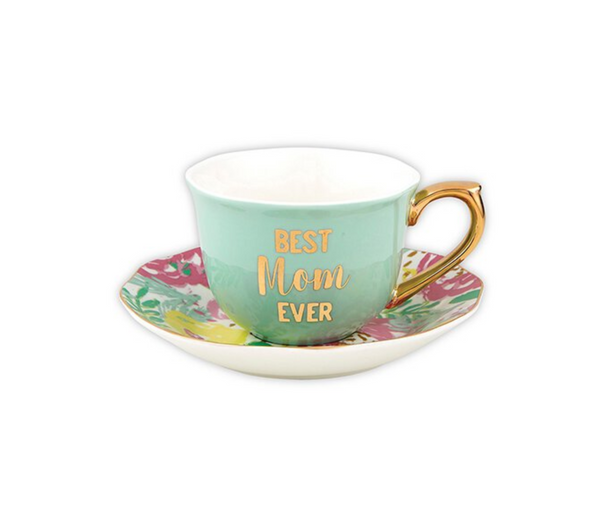 Slant Happy Mother's Day Saucer