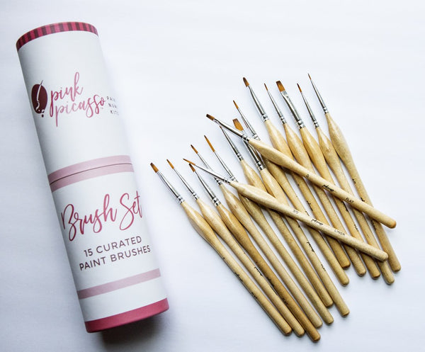 Pink Picasso Brush Set