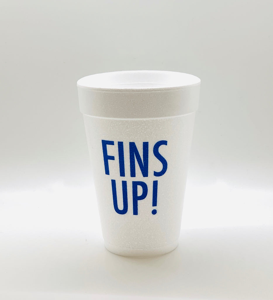 Game Day Styrofoam Cups / MINIMUM 4 TO SHIP