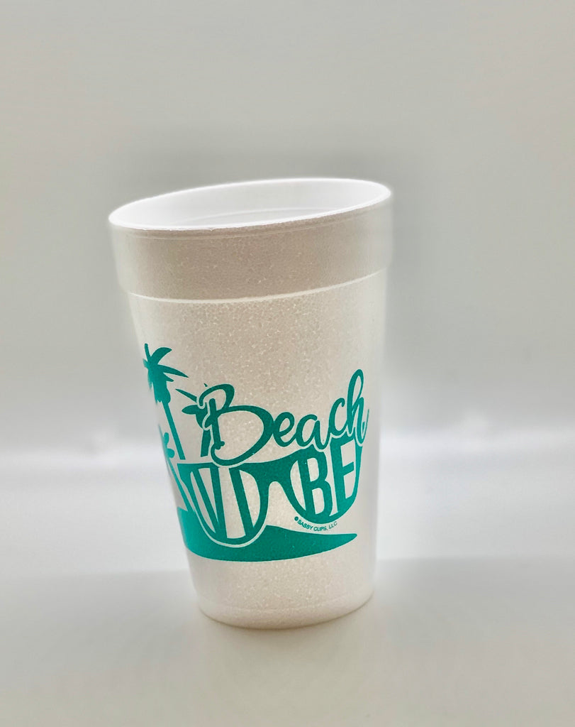 Summer Foam Cups/ MINIMUM 4 TO SHIP
