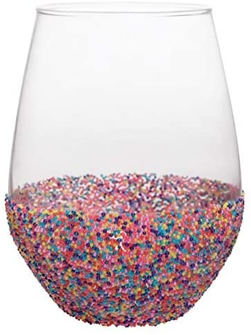 Beaded Glassware