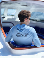 The Fly Boat™ Collection - Men's Long Sleeve Hooded Performance Shirt