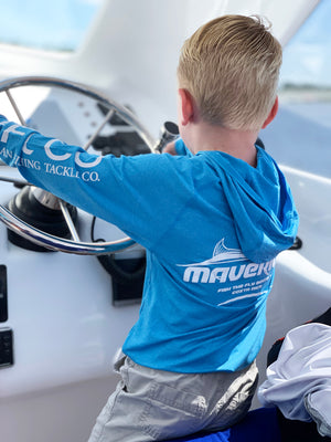 YOUTH Long Sleeve Performance Shirt - Maverick Fish the Fly Boats™