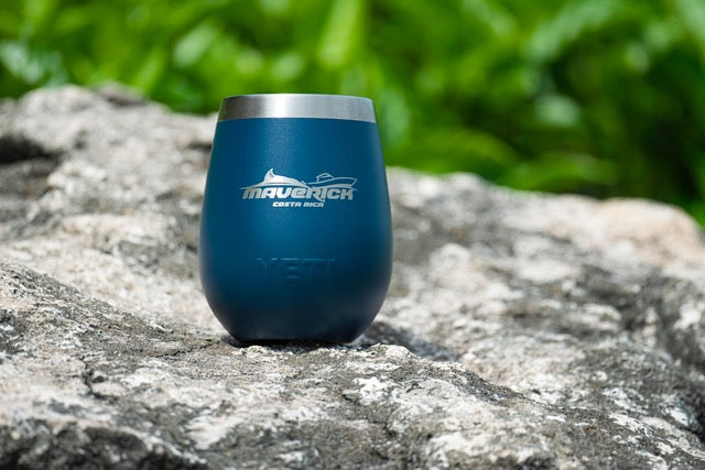 SIGNATURE MAVERICK COSTA RICA YETI Rambler 10oz Wine