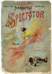 1889 Summer Carnival Section Cover